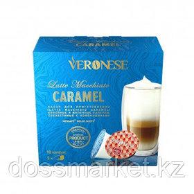"""Кофе в капсулах Veronese """"Latte Macchiato Caramel"""" для кофемашин Dolce Gusto, 10 капсул"""