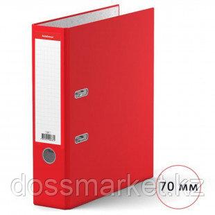 Папка-регистратор Erich Krause, А4, ширина корешка 70 мм, красная