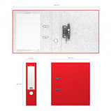 Папка-регистратор Erich Krause, А4, ширина корешка 70 мм, красная, фото 2