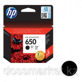 Картридж оригинальный HP CZ101AE №650 для DeskJet 2515/2516, черный