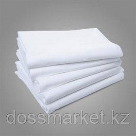 Простыни одноразовые, размер 120*90 см, белые, 10 шт/упак