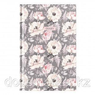 """Ежедневник недатированный OfficeSpace """"Цветы. Wild rose"""", А5, 160 л"""
