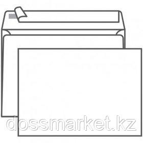 Конверт горизонтальный Гознак, формат С5 (162*229 мм), белый, отрывная лента