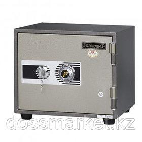 Огнеупорный сейф President MS1-2К, ключевой, 409*395*350 мм, 40 кг