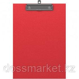 """Планшет А4 формата Erich Krause """"Standard"""", с верхним прижимом, красный"""
