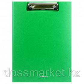 """Папка-планшет Erich Krause """"Classic"""", А4, с верхним прижимом и крышкой, зеленый"""