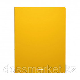 "Папка Erich Krause ""Classic"", A4 формат, на 4 кольцах, корешок 35 мм, желтая"