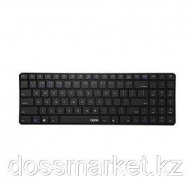 Клавиатура беспроводная Rapoo E9100M, ENG/RUS, чёрная