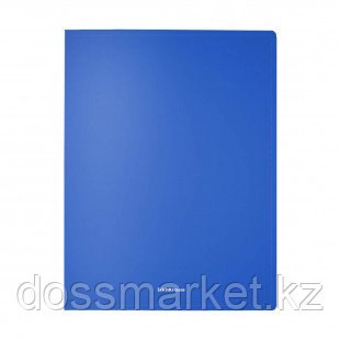 """Папка Erich Krause """"Classic"""" с зажимом, A4 формат, корешок 17 мм, синяя"""