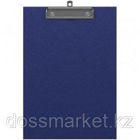 "Планшет А4 формата Erich Krause ""Standard"", с верхним прижимом, синий"