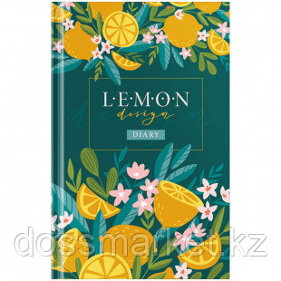 """Ежедневник недатированный OfficeSpace """"Цветы. Juicy lemon"""", А5, 136 л"""