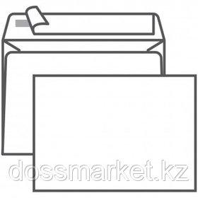 Конверт горизонтальный Ряжская печатная фабрика, формат C6 (114*162 мм), белый, отрывная лента