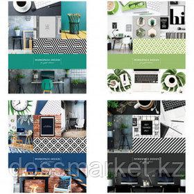 """Тетрадь ArtSpace """"Офис. Workspace design"""" А5, 48 листов, в линейку, на скрепке"""