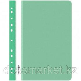 Папка-скоросшиватель Berlingo, А4 формат, 180 мкм, зеленая, с перфорацией