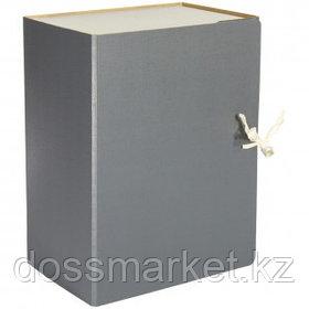 Архивный короб OfficeSpace, 150*240*320 мм, вместимость 1400 листов, с завязками, сплошной, ассорти