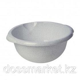 Таз круглый без крышки Idea, 10 литров, мраморный