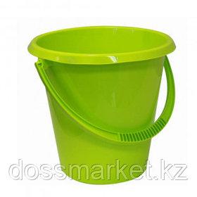 Ведро пластиковое Idea, 17 литров, круглое, салатовое