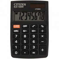 Калькулятор карманный Citizen SLD-100NR, 8 разрядный, размеры 58*88*10 мм