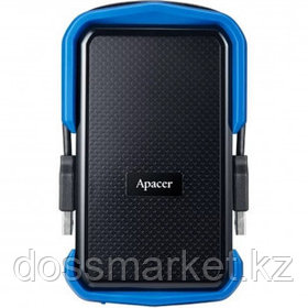 "Жесткий диск 1 TB, Apacer AC631, 2.5"", USB 3.2, HDD, синий"