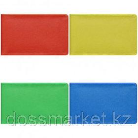 Визитница карманная OfficeSpace на 20 визиток, 65*110 мм, ассорти