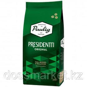 """Кофе в зернах Paulig """"Presidentti Original"""", светлой обжарки, 250 гр"""