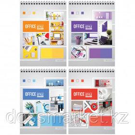 "Блокнот ArtSpace ""Офис. Яркие краски"", А5, 40 листов, на гребне, в клетку"