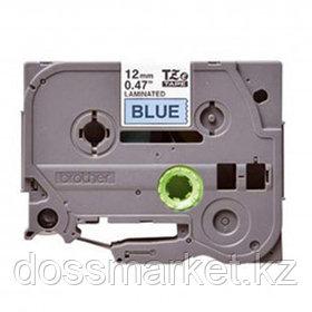 Лента для печати наклеек Brother TZе-531, ширина 12 мм, длина 8 м, черная на синем фоне
