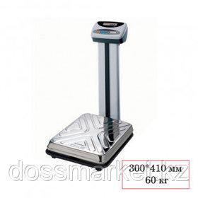 Весы напольные CAS DL-60 N, электронные, максимальная нагрузка 60 кг