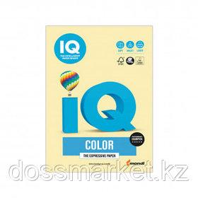 Бумага IQ Color Pale, А4, 160 г/м2, 250 листов, желтая