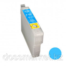 Картридж совместимый Epson T0732 для Stylus C79/90/92/CX3900/4900/5900, синий