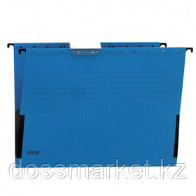 """Папка подвесная Leitz """"L-19860135 ALFA"""", А4 формат, синяя"""