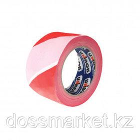 Сигнальная лента Unibob, ширина ленты 70 мм, длина намотки 150 м, красно-белая