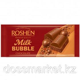 Шоколад молочный Roshen, пористый, 80 гр