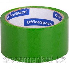 Упаковочная клейкая лента OfficeSpace, ширина ленты 48 мм, длина намотки 40 м, зеленая