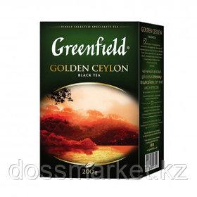 Чай Greenfield Golden Ceylon, черный, 200 гр, листовой