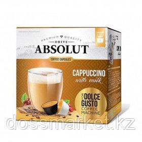 """Кофе в капсулах Живой Кофе """"Капучино"""", для кофемашин Dolce Gusto, 8 капсул"""