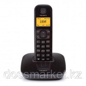 Телефон беспроводной Texet TX-D6705A, черный