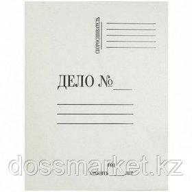 """Папка-скоросшиватель Attache """"Дело"""", картон мелованный, А4 формат, 440 гр/м2, 20 шт/упак"""