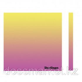 """Блок самоклеящийся 75*75 мм, Berlingo """"Ultra Sticky. Radiance"""", градиент, желтый/розовый, 50 листов"""