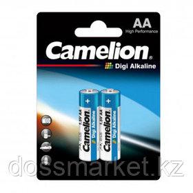 Батарейки Camelion Digi Alkaline пальчиковые AA LR6-BP2DG, 1.5V, 2 шт./уп, цена за упаковку