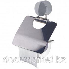 Держатель для туалетной бумаги OfficeClean, нержавеющая сталь, хром