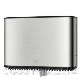 Диспенсер для мини-рулонной туалетной бумаги Tork, стальной