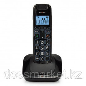 Телефон беспроводной Texet TX-D7505A, черный
