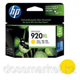 Картридж оригинальный HP CD974AE №920XL для OfficeJet-6000/6500/7000/7500, желтый