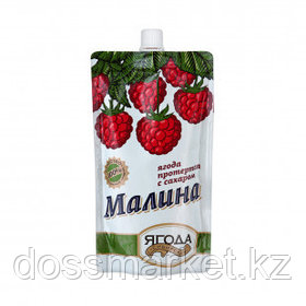 Малина протертая с сахаром Sava, 280 гр