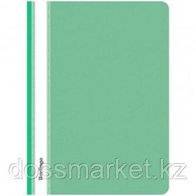 Папка-скоросшиватель Berlingo, А4 формат, 180 мкм, зеленая