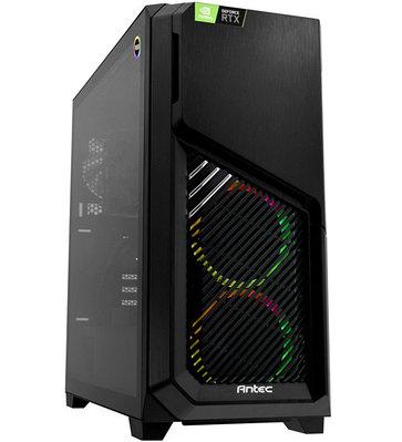 Персональный компьютер PULSER Advanced Core i7-10700F-2.9GHz/SSD 480GB черный