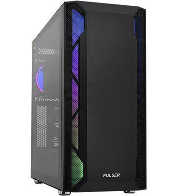 Персональный компьютер PULSER Advanced Core i7-9700-3.0GHz/SSD 240GB/GTX1650-4GB черный