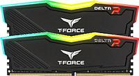 ОЗУ Team DELTA R BLACK 32Gb-3200MHz CL16, 1.35V, TF3D432G3200HC16FDC01
