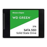 Твердотельный накопитель 2000GB SSD WD Серия GREEN 3D NAND 2.5 SATA3 R545Mb-s, W465MB-s WDS200T2G0A